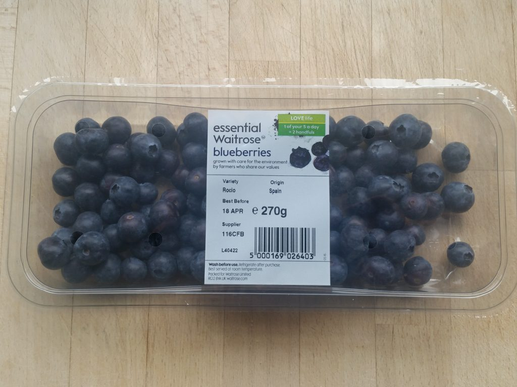 waitrose bluberries