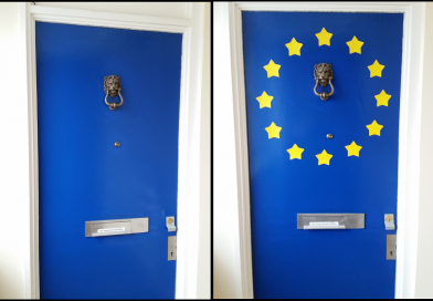 I had BLUE door, now I have BLEU door
